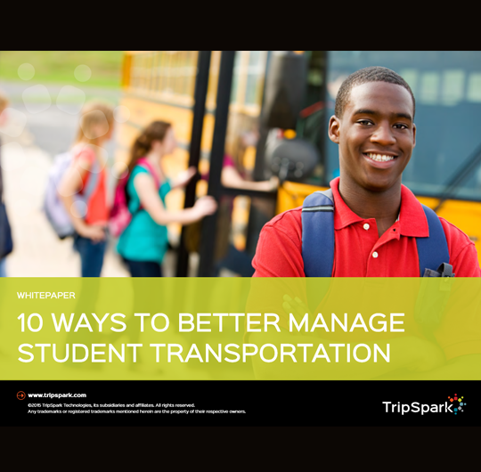 10 Ways to Better Manage Student Transportation