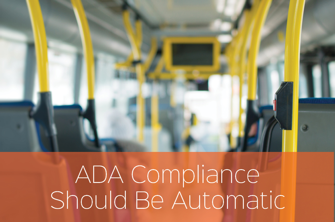 How ITS Fixed Route Software Solutions Enable ADA Compliance