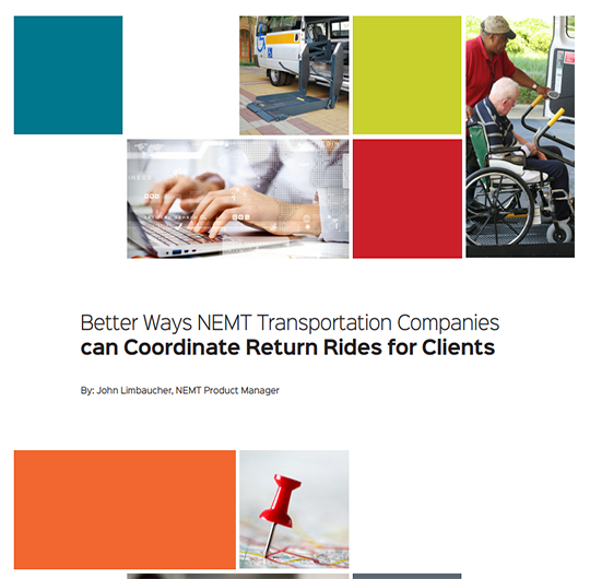 How NEMT Software Coordinates Return Rides