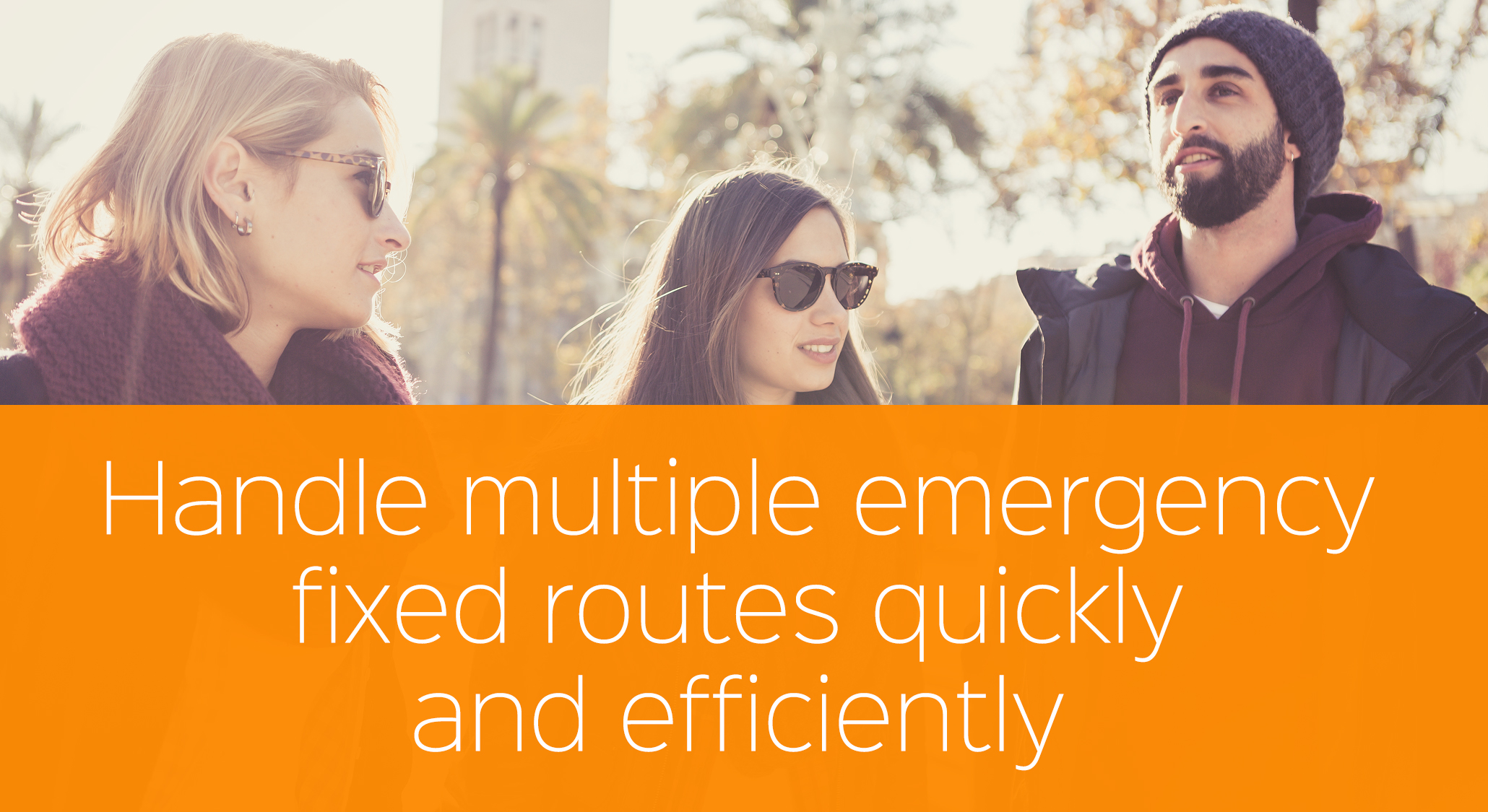 Our Fixed Route Software Creates Emergency Schedule Quickly