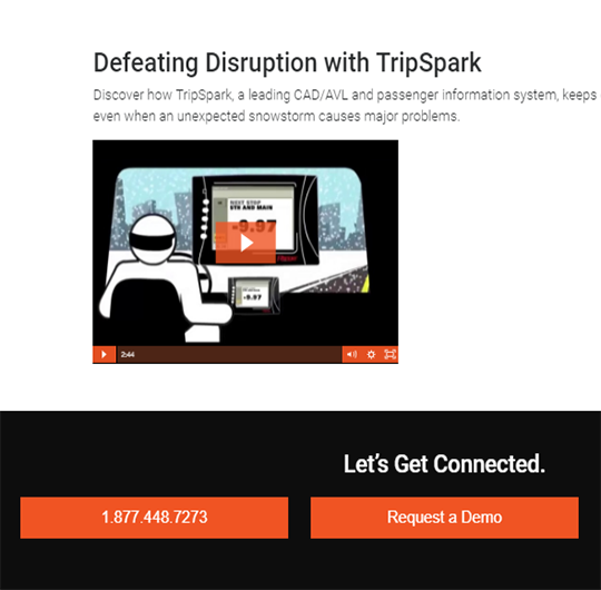 Defeating Disruption with TripSpark