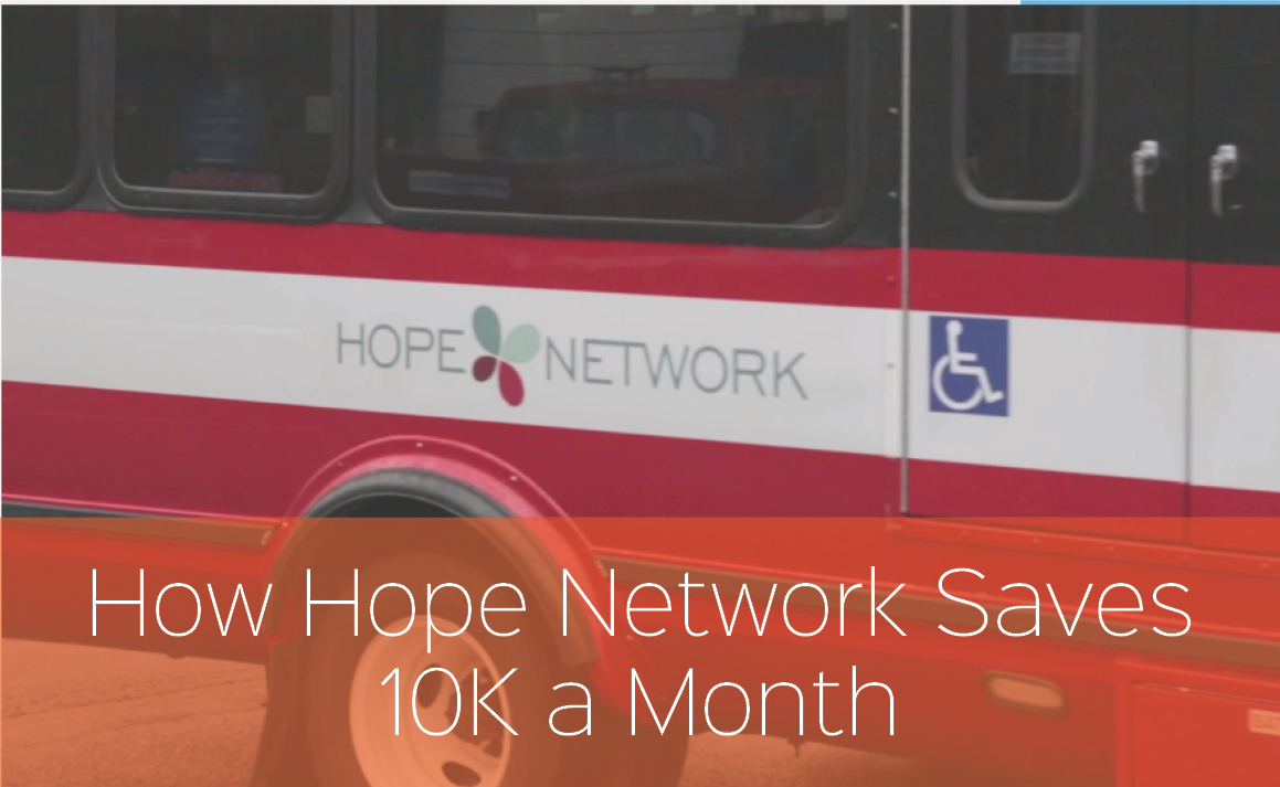 Hope Network Proves the ROI of Paratransit Software