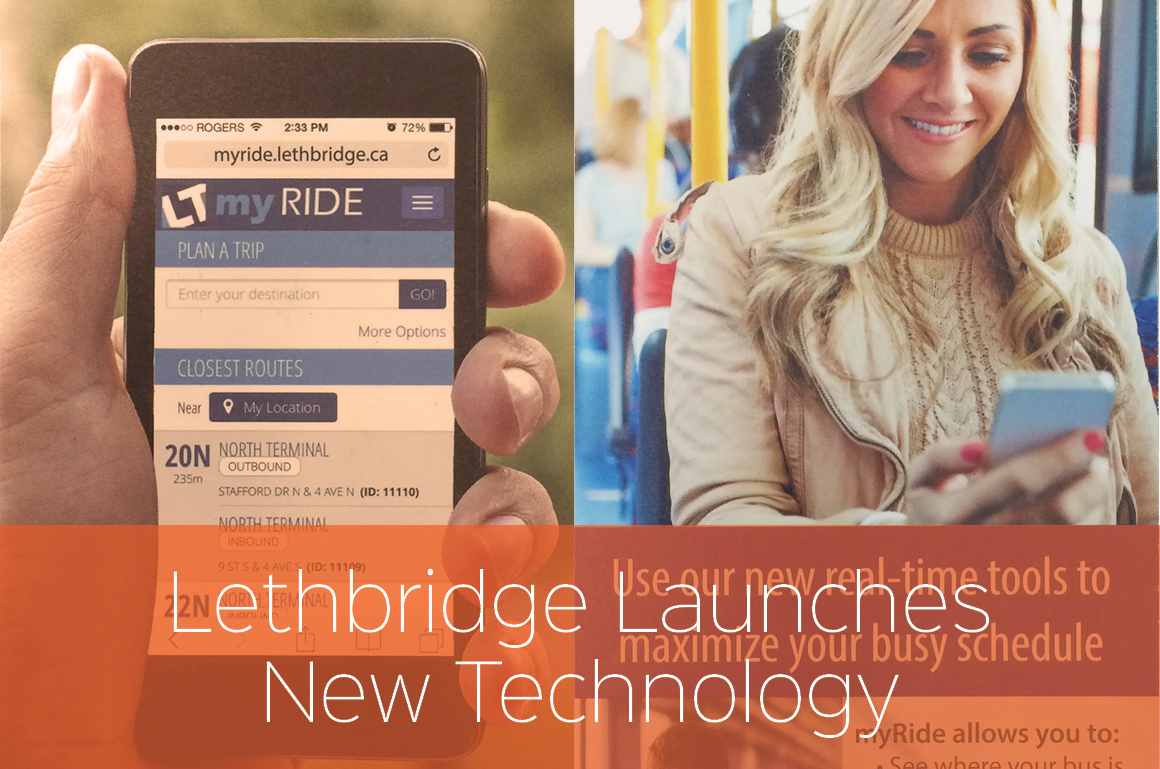 Lethbridge Embraces Fixed Route Software and Our Mobile Web App