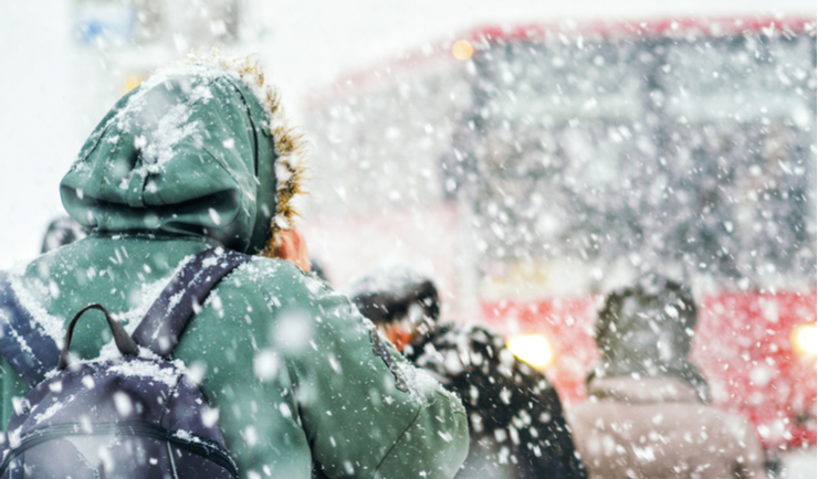 Why Waiting for the Bus in a Snow Storm isn't Fun, Besides the Obvious Reasons