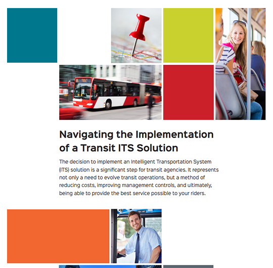 Navigating the Implementation of a Transit ITS Solution