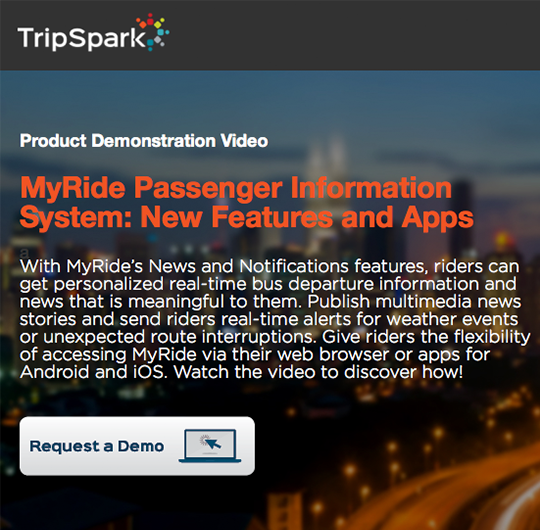 New MyRide 4.0 Features Webinar