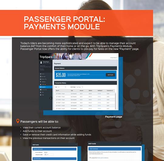 Passenger Portal: Payments Module