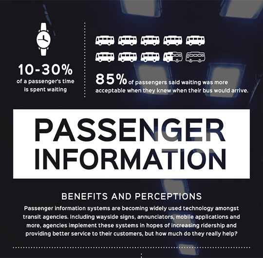 QUICK PIC: The Effects of Passenger Information on Ridership.
