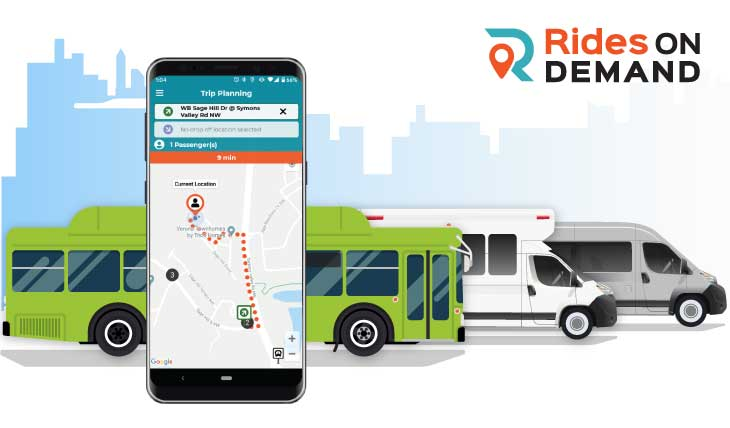 Rides on Demand – TripSpark's New Microtransit App