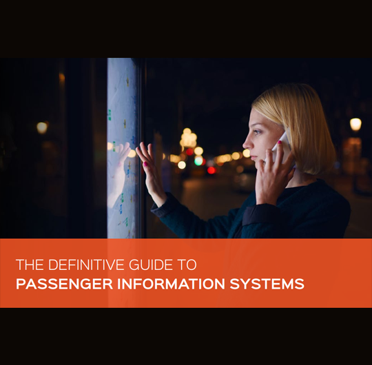 The Definitive Guide to Passenger Information Systems