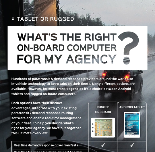 The Great Debate: Tablet vs Rugged