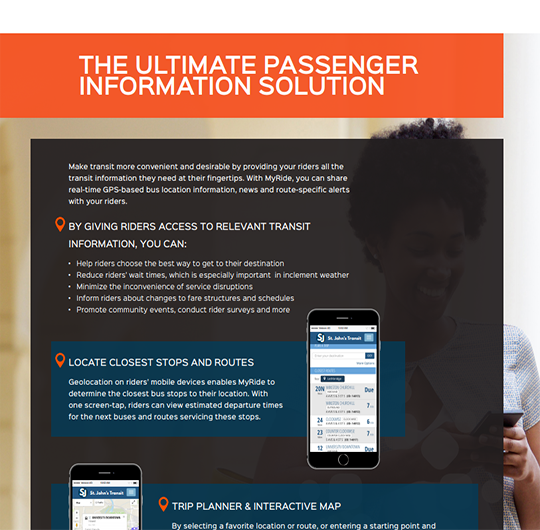 The Ultimate Passenger Information System and Mobile Solution