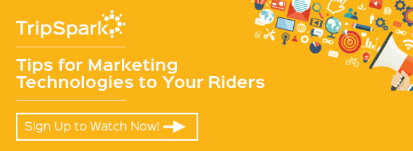 See how you can market to your riders.