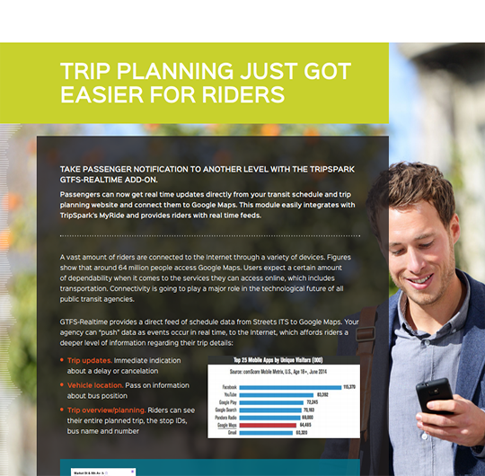 Trip Planning Just Got Easier for Riders - GTFS
