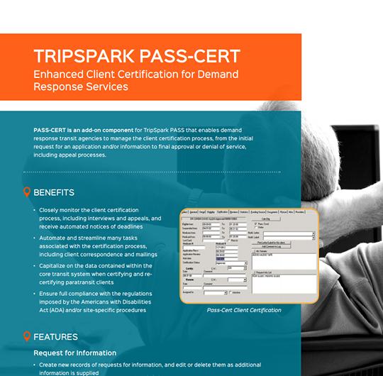 TripSpark PASS-CERT