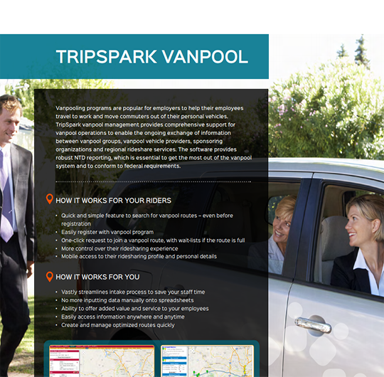 TripSpark Vanpool Management