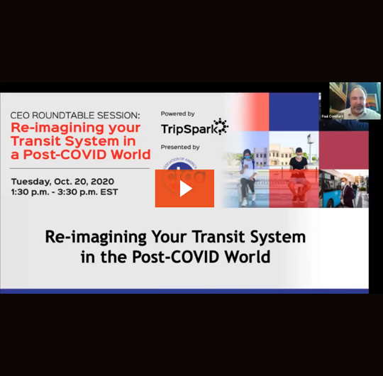 Reimagining Your Transit System in a Post-COVID World