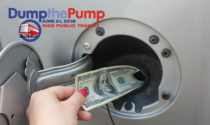 Celebrating Dump the Pump Day 2018!