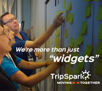 TripSpark is a partner, we're more than just widgets