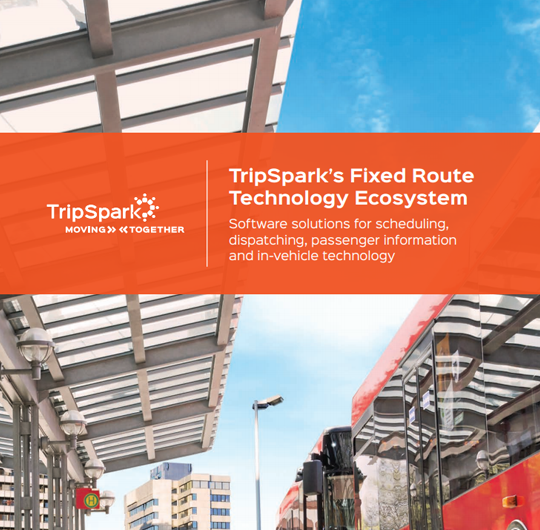 Streets Fixed Route Ecosystem Brochure
