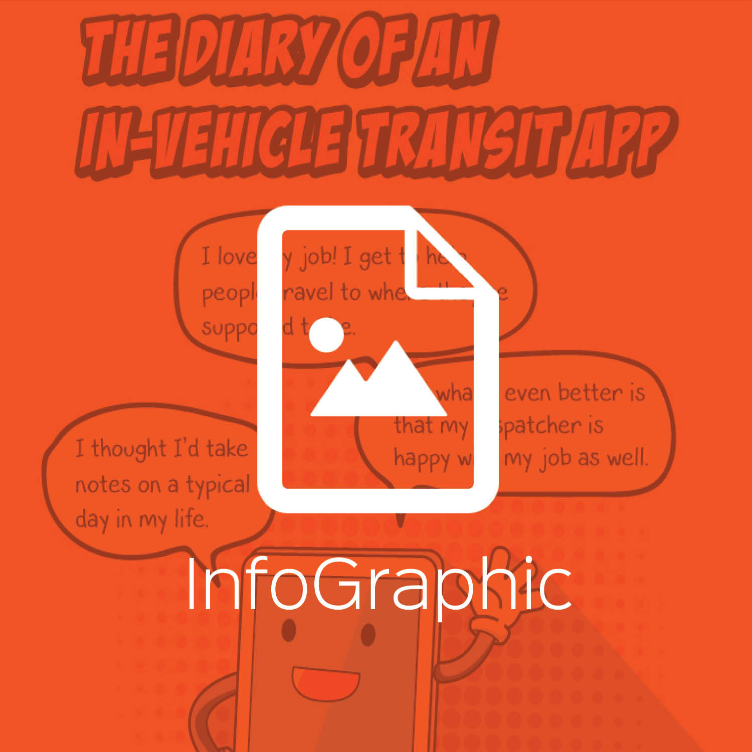 The Diary of an In-Vehicle Transit App